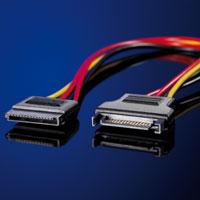 ROLINE 11.03.1042 :: ROLINE SATA удължителен захранващ кабел, 30 см