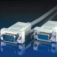 ROLINE 11.99.6233 :: RS-232 cable D9 M/F, 3.0m, 9 wires, assembled, extension
