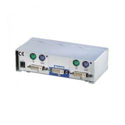ROLINE 14.99.3252 :: DVI KVM Switch, 1U-2PC, PS/2