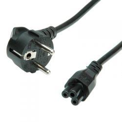 ROLINE 19.08.1028 :: Захранващ кабел, Shuko към 3-pin накрайник, 1.8 м, черен