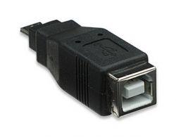 MANHATTAN 308687 :: Преходник USB B/F към micro A/M