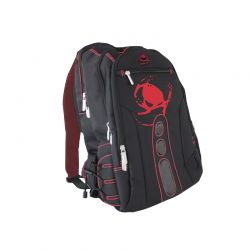 KEEP OUT BK7R :: Геймърска раница за лаптоп и аксесоари Pro Gaming BK7, черно-червена