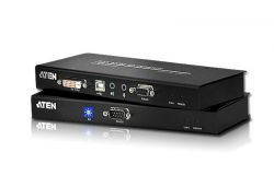 ATEN CE602 :: DVI Dual Link KVM екстендър, 60M, Audio, RS232 & USB