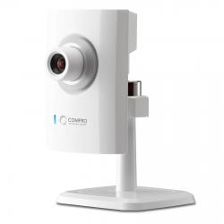 Compro CS80 :: 2 Mpix компактна IP охранителна камера, H.264, 1600х1200