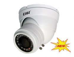 "CIGE DIS-916VF/E :: Охранителна камера, 1/3"" 960H ExView CCD Sony, 2.8-12 мм варифокален обектив, 35 м IR прожектор, 700 TVL, IP66"
