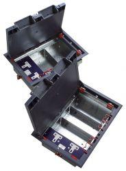 EXCEL EXL350-600 :: Подова кутия с 3 отделениея и 1 twin power