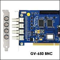 GeoVision GV-650/4 :: Охранителна платка GV-650, 4 порта, 50 fps