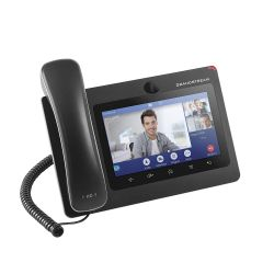 GRANDSTREAM GXV3370 :: Мултимедиен VoIP телефон, 16 линии, Bluetooth, WiFi, PoE, Android OS