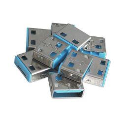 LINDY 40462 :: Допълнителни USB порт блокери за заключваща система Lindy, Сини, 10 бр.