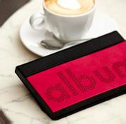 ALBUM Team Q42008R :: Цифров фотоалбум, алуминиев, червен