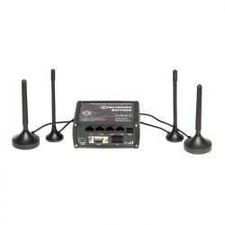 TELTONIKA RUT905 :: Dual-SIM 3G/Wi-Fi/LAN/WAN рутер с RS232/485 over IP, USB и DIN Rail адаптер