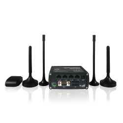 TELTONIKA RUT955 :: 100 Mbps LTE индустриален рутер, с GPS приемник, Dual-SIM, 300Mbps WLAN, RS232, RS485, IO портове, OpenVPN сървър