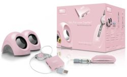 SWEEX SP939 :: Тонколони за лаптоп BOX Baby Pink