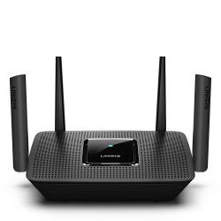 Linksys MR8300 :: Velop Mesh WiFi AC2200 безжичен рутер, 4x Gigabit switch, 2.4+5.0+5.0 GHz, USB 3.0, MU-MIMO