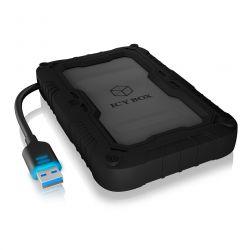RAIDSONIC IB-AC603PL-U3 :: USB 3.0 адапторен кабел за 2.5'' SATA дискове, със защитна кутия и калъф