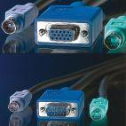 VALUE 11.99.5450 :: KVM кабел, 1x HD15 M/F, 2x PS/2 M/F, 3C+4, 1.8 м