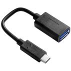 VALUE 11.99.9030 :: USB кабел с адаптер, OTG, USB3.1, C-A, M/F, 0.15 m