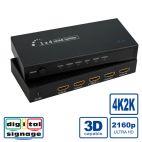 ROLINE 14.01.3581 :: ROLINE HDMI сплитер, 4K, 4-way