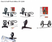Trust 14893 :: Слушалки и уеб камера Chat & VoIP Pack HiRes, CP-2200