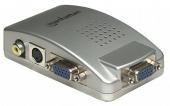 MANHATTAN 150095 :: Конвертор PC към TV 1024x768, 75Hz