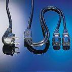 VALUE 19.99.1022 :: Захранващ разклонителен кабел, Schuko 1.8 / 2.0 м, черен цвят, quality