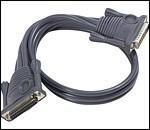 ATEN 2L-1701 :: Daisy Chain KVM кабел, DB25 M >> DB25 F, 1.8 м