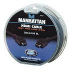 MANHATTAN 391528 :: Кабел за монитор HDMI 1.3 19p M/M, 3.0 м