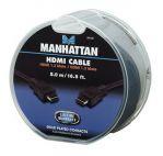 MANHATTAN 391535 :: Кабел за монитор HDMI 1.3 19p M/M, 5.0 м