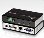 ATEN CE700AL/R :: USB KVM конзолен екстендър, 150 м, 1920 x 1200, Surge protection
