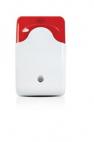 CHUANGO WS103 :: Безжична strobe сирена, с червена лампа, за безжична връзка с централа CG-5, 110 dB