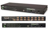 ATEN CS1716A :: KVMP превключвател с OSD, 16x 1, PS/2 & USB, 2048x1536; DDC2B