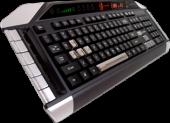 Mad Catz Cyborg V.7 :: Геймърска клавиатура Cyborg V.7