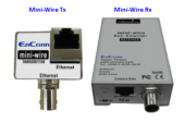ENCONN EOC Mini-Wire :: Ethernet Over Coax Extender, 10/100 Mbps