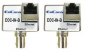 ENCONN EOC-IN-B :: Ethernet Over Coax екстендър, 10 Mbps, 200 м