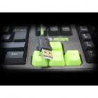 KEEP OUT F80 :: Геймърска клавиатура, LED подсветка, 12 мултимедийни и 5 програмируеми клавиша