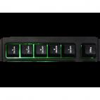 KEEP OUT F89PRO :: Геймърска клавиатура, LED подсветка, 12 мултимедийни и 5 програмируеми клавиша