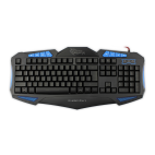 WHITE SHARK GK-1621B :: Gaming keyboard Shogun, blue