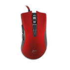 WHITE SHARK GM-1601R :: Gaming mouse Spartacus, 4800dpi, red