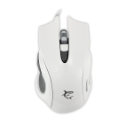 WHITE SHARK GM-1605W :: Gaming mouse Hercules, 4800dpi, white