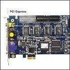GeoVision GV-1240X/8 PCI-E :: Охранителна платка GV-1240X, 8 порта, PCI-E, 400/200 fps