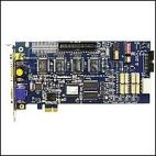 GeoVision GV-1480X/16 D-SUB :: Охранителна платка GV-1480X, 16 порта, D-Sub, PCI-Е, 400 fps