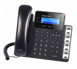 GRANDSTREAM GXP1628 :: VoIP телефон с 2 линии, PoE, 3-way конференция, 8 BLF клавиша, гигабитови портове