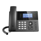 GRANDSTREAM GXP1760W :: VoIP phone for small businesses, WiFi, 6 lines, 3 SIP,