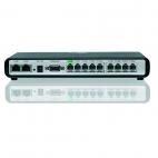 GRANDSTREAM GXW4008 :: аналогов VoIP гейтуей, 8x FXS