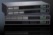 GRANDSTREAM GXW4248 :: аналогов VoIP гейтуей, 48x FXS, 2x 50 pin Telco connectors