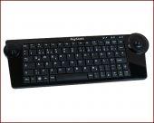 KeySonic KSK-3200 RF :: безжична мини клавиатурта с тракбол