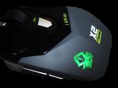 KEEP OUT X2 :: Геймърска мишка, оптична, 1600dpi
