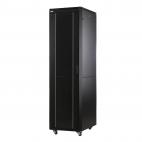 MIRSAN MR.GTAP42U66.11 :: Сървърен шкаф - 600 x 600 x 2053 мм / 42U, D=600 мм, 600 кг товар, черен, свободно стоящ, ALTER Plus