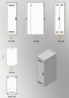MIRSAN MR.GTAPS42U61.11 :: Сървърен шкaф - 600 x 1000 x 2053 мм / 42U, D=1000 мм, 600 кг товар, черен, свободно стоящ, ALTER Plus Server/Storage