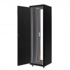 MIRSAN MR.GTE36U61.01 :: Сървърен шкаф - 600 x 1000 x 1730 мм / 36U, D=1000 мм, 600 кг товар, черен, свободно стоящ, Eco
